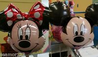"""Mickey & Minnie Mouse 34"""" HELIUM FOIL BALLOON SUPERSHAPE ANAGRAM"""