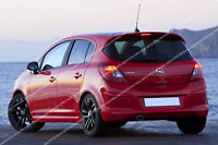 VAUXHALL CORSA D SPOILER - 5 DOOR MODEL