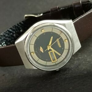 VINTAGE CITIZEN AUTOMATIC JAPAN WOMENS DAY/DATE WATCH 458-a230725-9