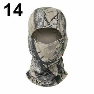 Tactical Military Full Face Neck Scarf Head Warmer Outdoor Hunting Cycling Army