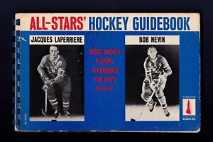 1967 All-Star's Hockey Guidebook with Jacques Laperriere & Bob Nevin