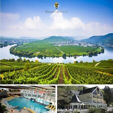 4 Tage Top Wellness Eifel & Mosel Kurzurlaub 3★ Hotel am Schwanenweiher + Therme