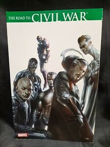 "Marvel Comics ""The Road To Civil War"" Paperback Graphic Novel ILLUMINATI"