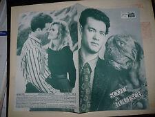 TURNER AND HOOCH, orig Austrian Film program [Tom Hanks, Mare Winningham]