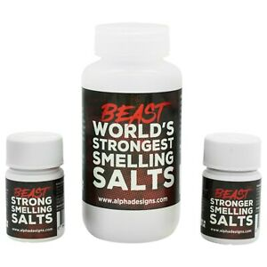 Alpha Designs 'Beast' Smelling Salts - developed by Eddie 'The Beast' Hall