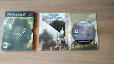 PS2 Shadow of the Colossus - PAL - mit Anleitung und OVP - ohne Postkarten