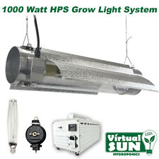 Virtual Sun 1000W HPS Cool Tube Reflector Grow Light Lamp Kit System - 1000 Watt