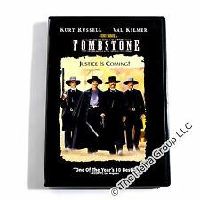 Tombstone DVD New Kurt Russell Val Kilmer Sam Elliott Michael Biehn Powers Booth