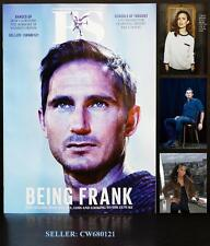 FRANK LAMPARD CHELSEA FOOTBALL MS DYNAMITE HAYLEY ATWELL ES MAGAZINE AUGUST 2013