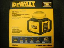 DeWALT DCL074 20 Volt Job Site Work Light 5000 Lumens All-Purpose Cordless NEW