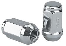 Set of 20 Chrome 7//16 Spline OE Acorn Open Ended Lug Nuts 1964-1989 with Key