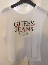 GUESS Cotton Blend Sleeveless Tops for Women