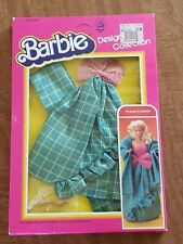 1993 Mattel BARBIE Designer Collection Outfit 7083 Picture in Plaid NRFB