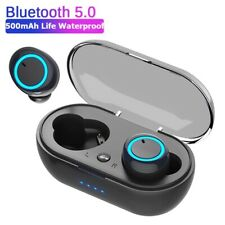 New listing y50 Wireless Bluetooth Earphone Touch control 9D Stereo with mic Sport Earphone