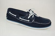 Timberland Classic 2-eye boat Shoes talla 41 us 7,5 caballeros vela zapatos 6169a
