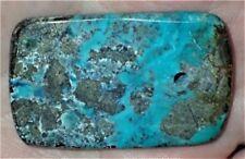 47mm Natural Royston Turquoise Pendant AZ, 14 Grams, #S1561