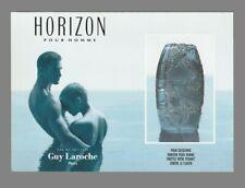 Carte publicitaire format carte postale -  Horizon de Guy Laroche