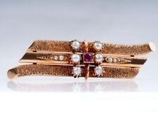 Broschen und Anstecknadeln aus Perlen natürliche Echtschmuck