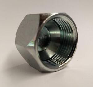 """304C-02 Hydraulic Fitting 1/8"""" JIC Cap C5129X2"""
