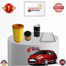 KIT TAGLIANDO 4 FILTRI FIAT BRAVO II 1.6 MULTIJET 16V 77KW 105CV DAL 2012 - >