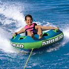 """Airhead Slide Inflatable 56"""" Water Tube 1 Person Rider Boat Tow Towable AHSL-12"""