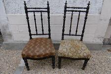 Paire de chaises anciennes, époque Napoléon III 19ème French Antique Chairs.