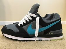 Nike MS78 LE, 386156-016, Men's Running Shoes, Dark Gray / Aqua Marine, Size 12