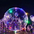Novelty!! Christmas LED String Light With Transparent Helium Balloons Decoration