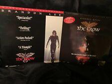 THE CROW+ THE CROW CITY OF ANGELS COMBO-Laserdiscs