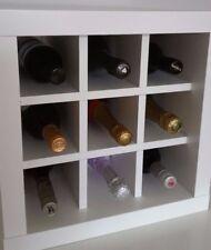 Wine Rack Insert For Ikea Kallax / Expedit Storage Unit Bottle Holder Hack White