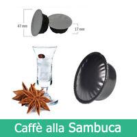 10 Capsule Cialde Sambuca Compatibili LAVAZZA A MODO MIO Caffè Kickkick