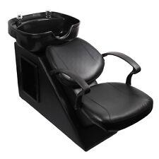 Erfect Backwash Chair Shampoo Sink Double Drain Spa Salon Station Barber Unit