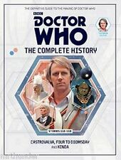 Doctor Who Complete History #23 Castrovalva, Four To Doomsday, Kinda