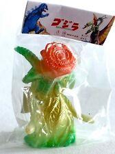 """Japan Marusan Toho Monsters 2.3"""" Vinyl Figure Biollante Rose Metallic Painted"""