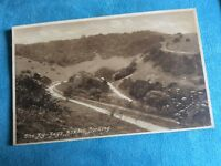 Antique Real Photo Postcard - The Zig-Zags, Boxhill, Dorking