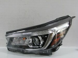 2019 2020 SUBARU FORESTER FACTORY OEM LEFT DRIVERS LED HEADLIGHT WITHOUT AFS R4