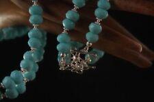 Gefärbte-Jade Echtschmuck-Halsketten & -Anhänger aus Sterlingsilber