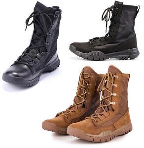 Mens Military TacticaL Boot Outdoor Combat Work Boot Climbing Desert Swat Shoes
