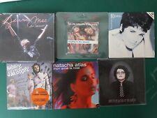 Lot cds France jeanne mas concert rita mitsouko elsa katerine juliette atlas