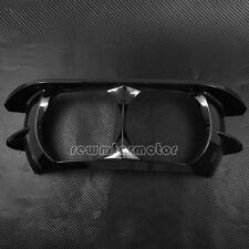 Vivid Black Headlamp Headlight Trim Cover Bezel For Harley Road Glide 2015-2019