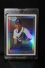 2010 Bowman Chrome Julio Teheran Refractor Auto /500 Rookie Card