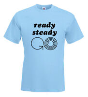 Ready Steady Go 60's T Shirt  The Weekend Starts Here Beatles Stones MOD