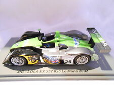 MG-LOLA EX257 N°26 DES 24 HEURES DU MANS 2002 Spark