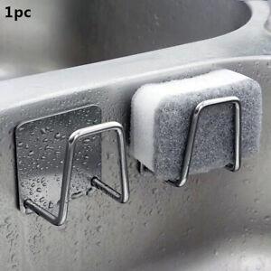 Porta spugne per lavello da cucina in acciaio inox Supporto per asciugatura NTbg
