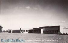 Postcard RPPC Rural Agricultural School Gaylord MI