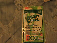 NEW WENDY'S 2012 KID'S MEAL TOY LEAP FROG LEAP SCHOOL FOX'S GLIDER STILL SEALED