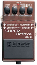 Pedali bassi Boss per effetti di chitarre e bassi