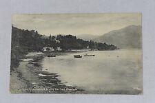 Postcard Loch Lomond from Tarbet Pier Scotland Posted Postmark 1918