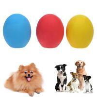 Sound Latex Ball Bite Resistant Anti Chew Pet Dog Molars Interactive Toy SN9F