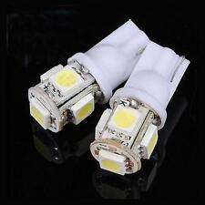 10PCS 12X30m T10 5050 W5W 5 SMD 194 168 LED White Car Side Wedge Tail Light Lamp